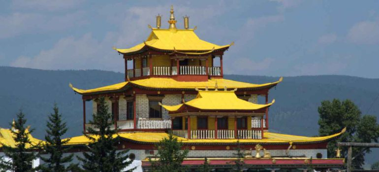 Бурятский храм