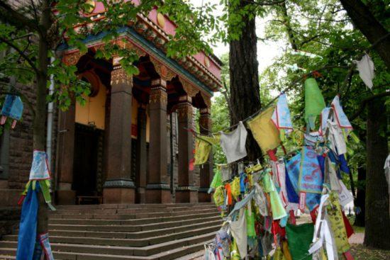 Буддийские флаги
