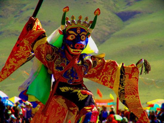 Ритуал в Тибете