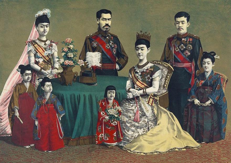 императорская семья японии