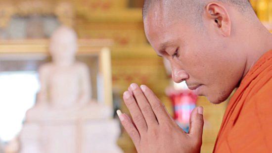 монах Камбоджи