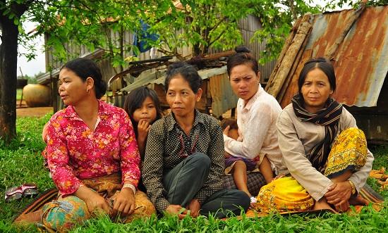 в деревне камбожди