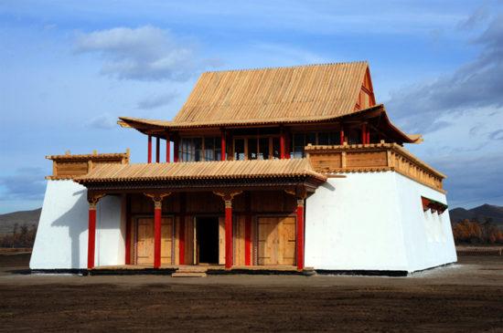 монастырь в азии