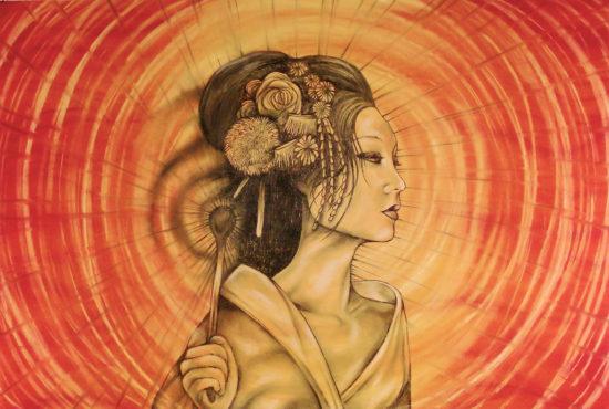 божество солнца в Японии