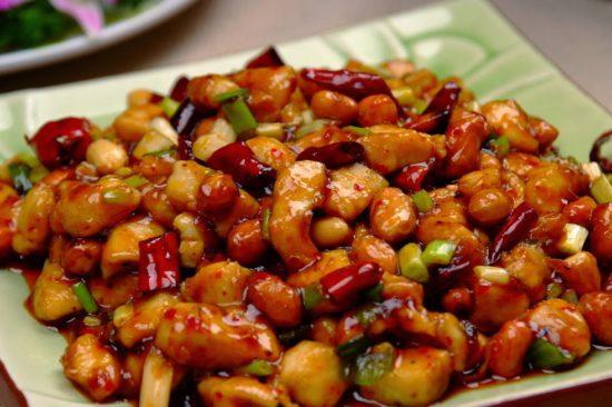 Китайская еда из курицы