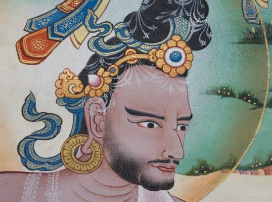 ученик в Тибете