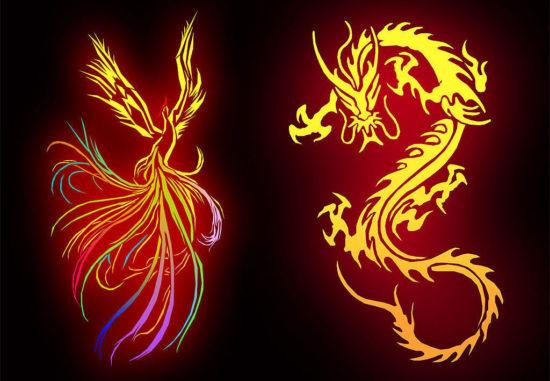 символы женского и мужского начала