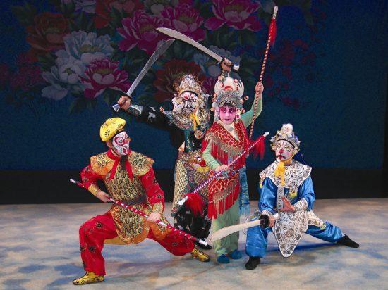 сцена китайского театра