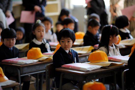 японский школьник
