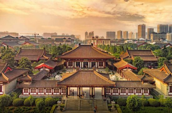 древняя столица Китая