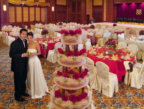 свадебный торт в Китае