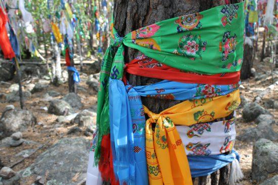 символы на шарфах