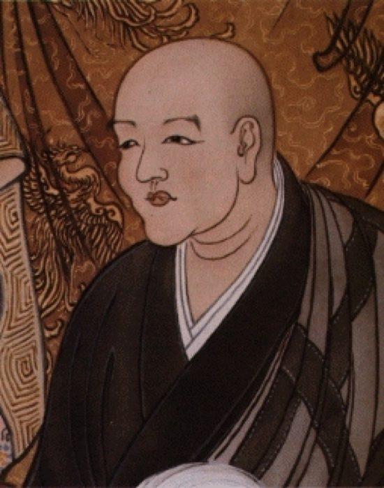 портрет Догэна