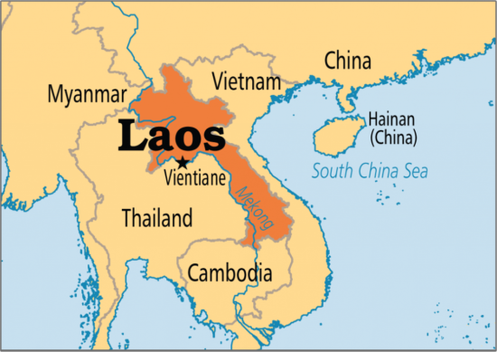 страны востока на карте