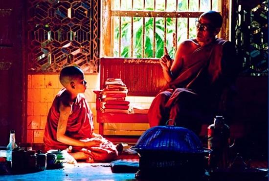 обучение в буддийском монастыре