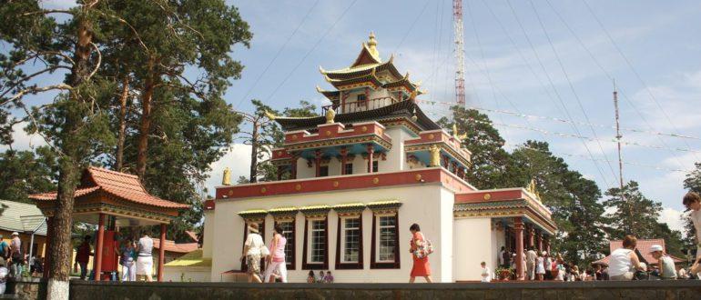 Храм буддийский