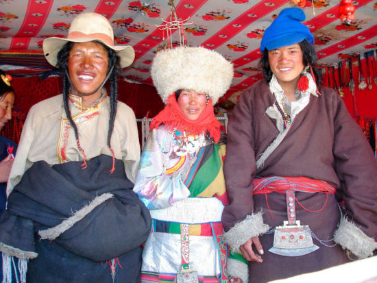 Тибетцы женятся