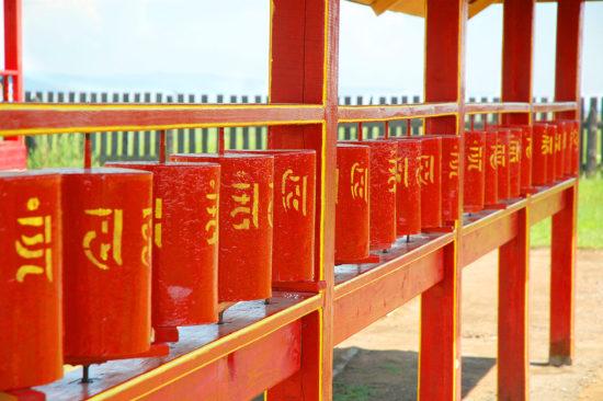 Буддийские барабаны