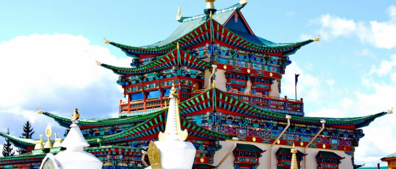 монастырь в Бурятии