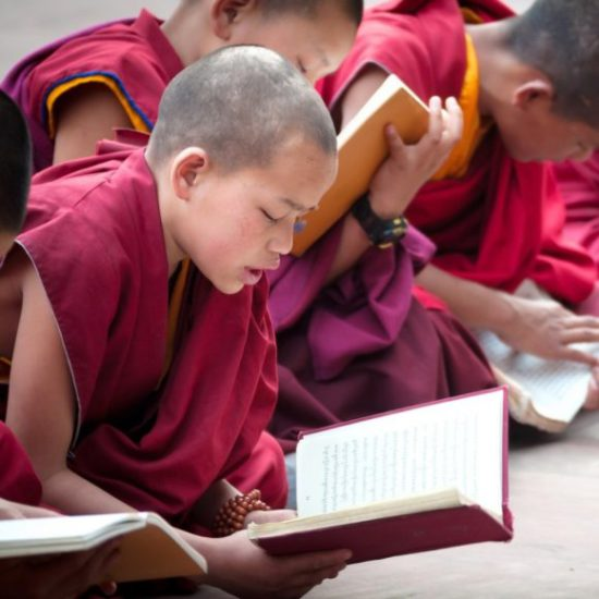 буддийский послушник