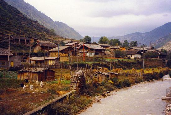 поселение в Тибете