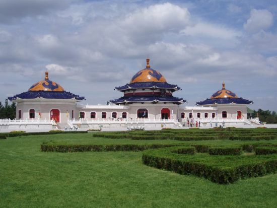 Мавзолей Чингисхана