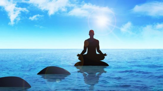 Медитация на камне