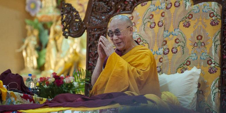 Лидер тибетских буддистов