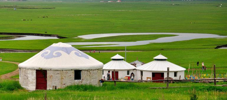 Юрты кочевников