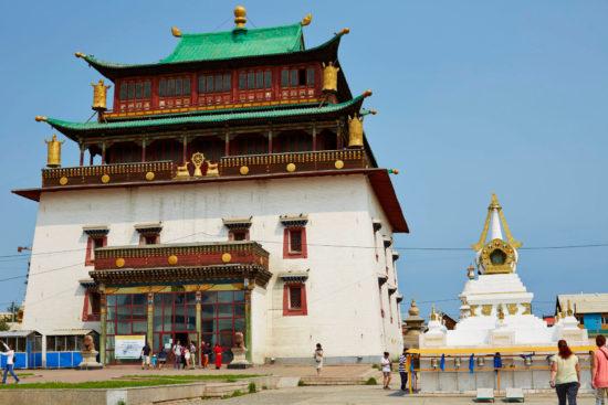 монгольский храм