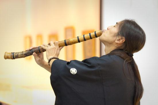 японская флейта