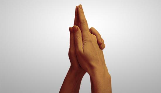 жест буддийский