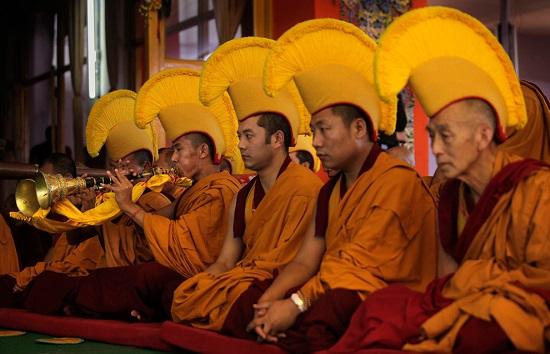 в Тибете