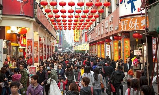 люди в китае
