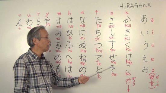 японская азбука хирагана