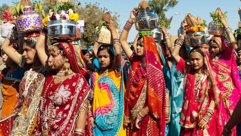 женщины индийские