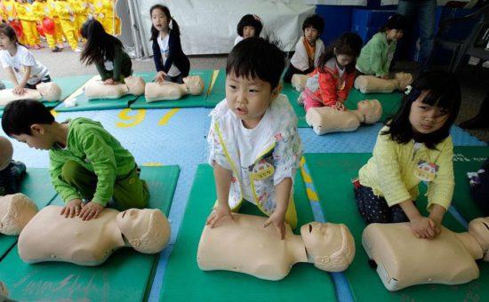урок в детском саду