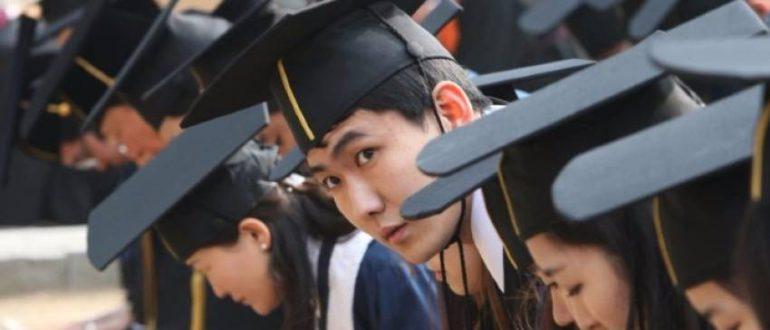 люди в Южной Корее