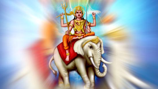 божество индийское