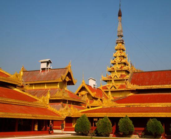Дворец в Мьянме