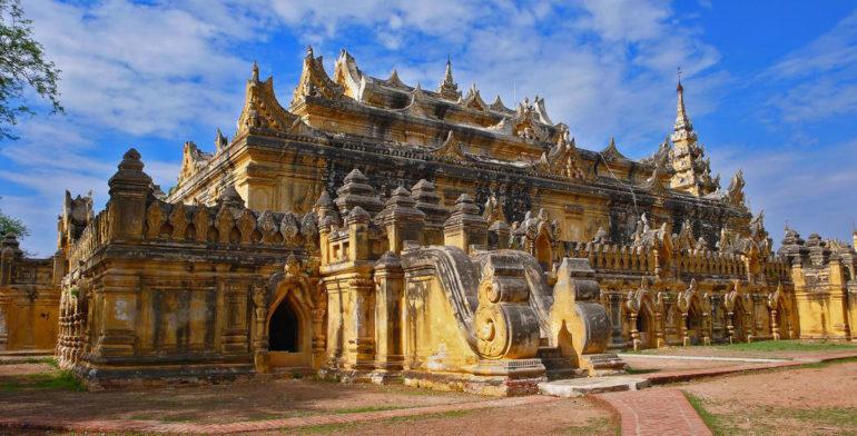 храм в Бирме