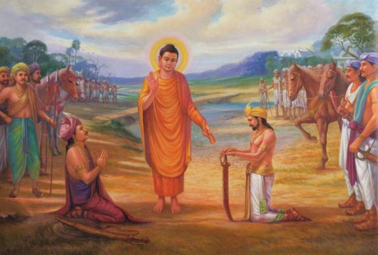 будда проповедует