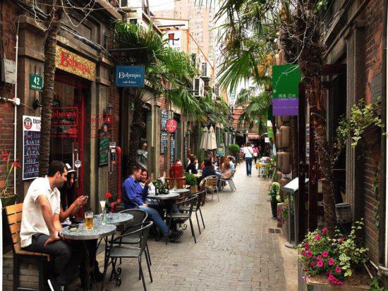 Французский квартал в Шанхае