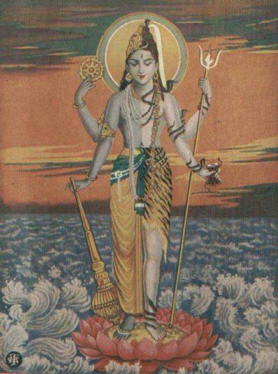 Слияние Шивы и Вишну