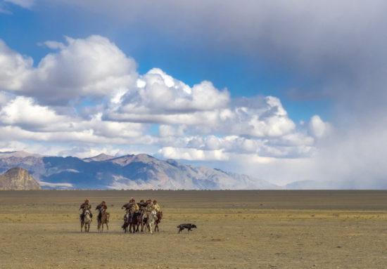 монголы на лошадях