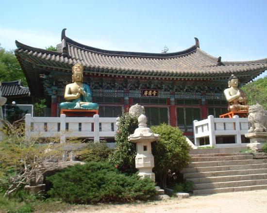 монастырь корейский