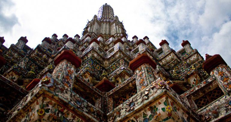 Буддийский храм в Бангкоке