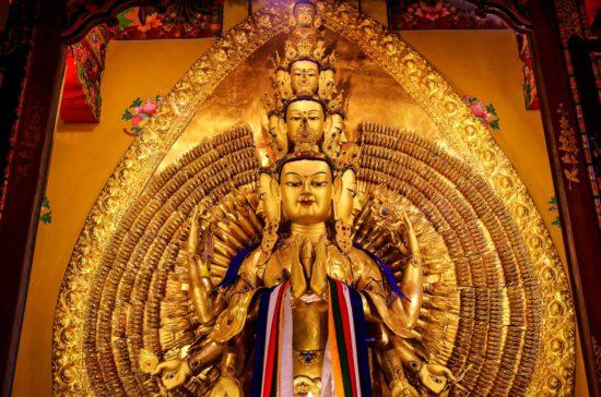 божество буддийское