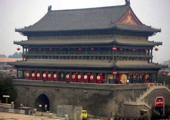 башня в Китае