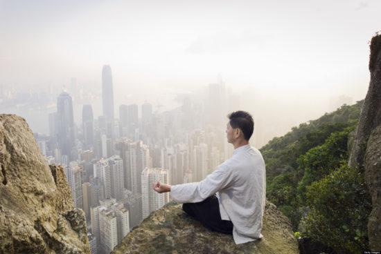 медитация в горах